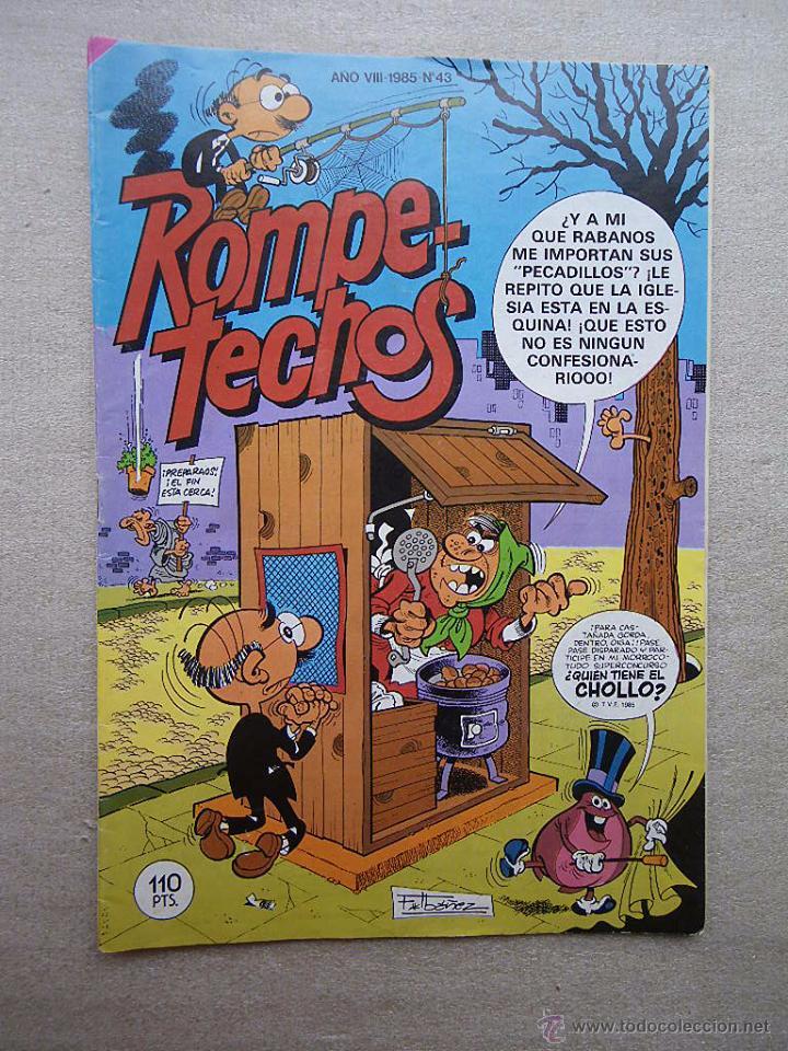 ROMPETECHOS Nº 43 BRUGUERA 1985 (Tebeos y Comics - Bruguera - Cuadernillos Varios)