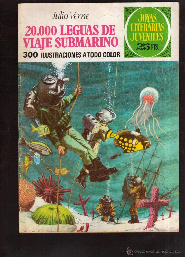 COLECCION JOYAS LITERARIAS JULIO VERNE Nº 4 VER FOTO QUE NO TE FALTE EN TU COLECCION (Tebeos y Comics - Bruguera - Joyas Literarias)