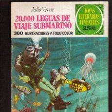 Tebeos: COLECCION JOYAS LITERARIAS JULIO VERNE Nº 4 VER FOTO QUE NO TE FALTE EN TU COLECCION. Lote 49106905