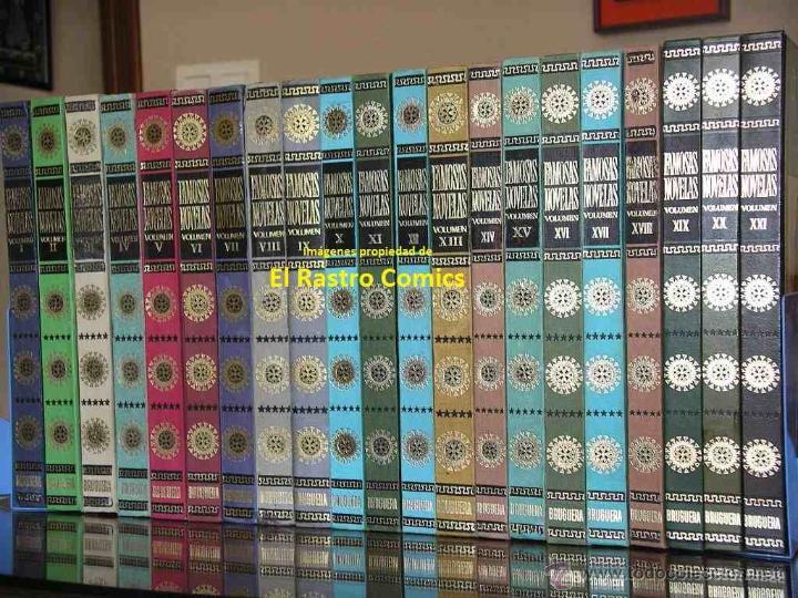 920e03906 Famosas novelas, completa 21 tomos, todos en 1ª - Vendido en Venta ...