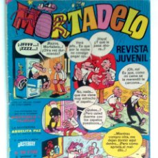 Tebeos: MORTADELO SEMANAL Nº 105 -27 NOVIEMBRE 1972- ANUNCIOS MUY CURIOSOS-ATÉRIX-BLUEBERRY--3556. Lote 49156780