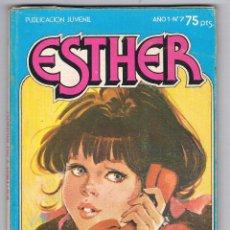 Tebeos: COMIC ESTHER AÑO 1 Nº 7 PUBLICACIÓN JUVENIL ME GUSTA SOÑAR 1982. Lote 49197689