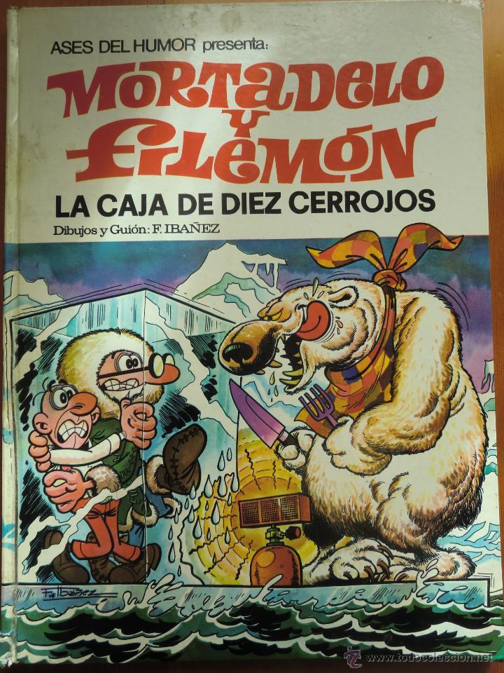 TEBEO COMIC MORTADELO Y FILEMÓN: LA CAJA DE DIEZ CERROJOS (1971) DE FRANCISCO IBÁÑEZ. ASES DEL HUMOR (Tebeos y Comics - Bruguera - Mortadelo)