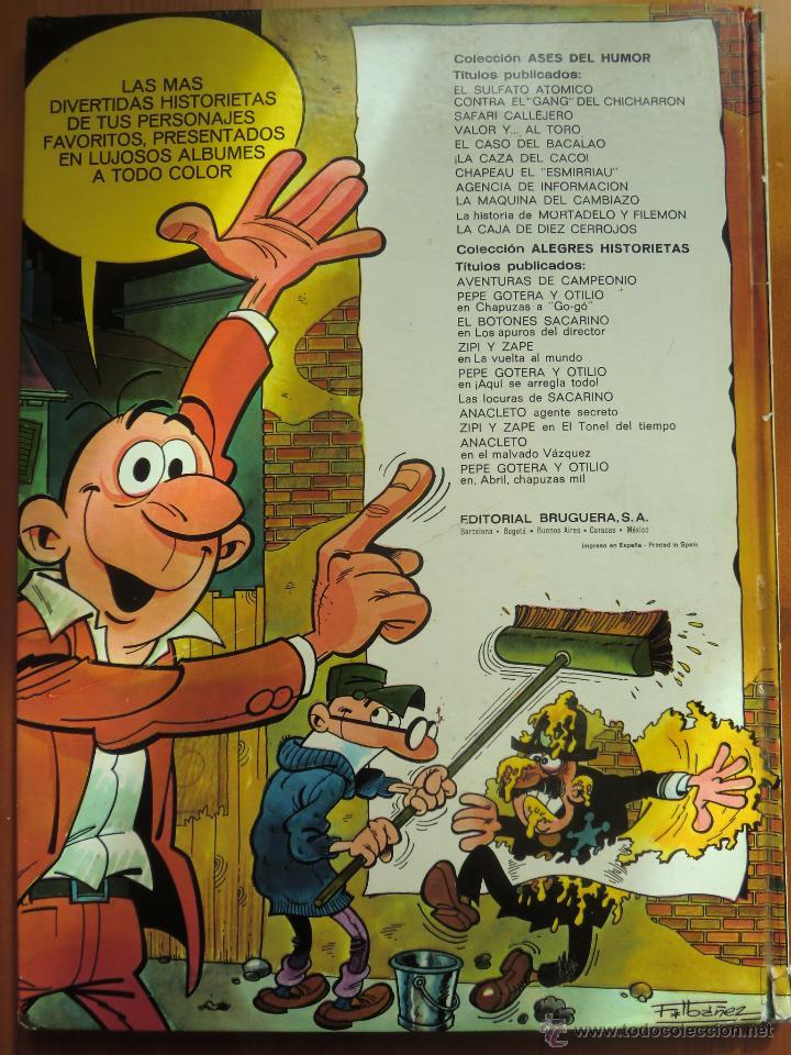Tebeos: Tebeo comic MORTADELO Y FILEMÓN: LA CAJA DE DIEZ CERROJOS (1971) de Francisco Ibáñez. Ases del Humor - Foto 2 - 49212927
