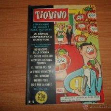 Tebeos: TIO VIVO - Nº 16 - EDICIONES CRISOL - BRUGUERA - 1958. Lote 49225511
