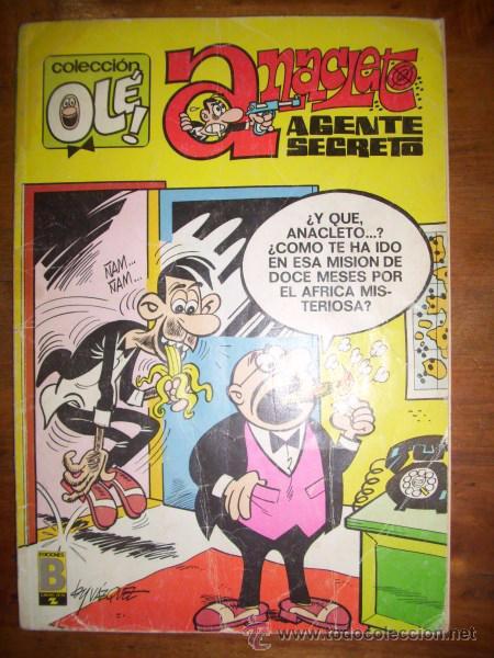ANACLETO : AGENTE SECRETO. (COLECCIÓN OLÉ ; 12-V.3) (Tebeos y Comics - Bruguera - Ole)