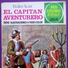 Tebeos: TEBEO EL CAPITAN AVENTURERO - JOYAS LITERARIAS JUVENILES Nº 74 - ED. BRUGUERA 1976. Lote 49293775