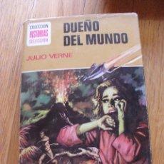Tebeos: DUEÑO DEL MUNDO, JULIO VERNE, COLECCION HISTORIAS SELECCION. Lote 49304908