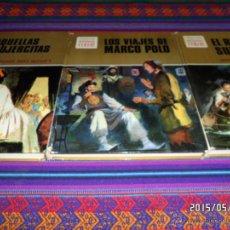 Tebeos: HISTORIAS COLOR 17 NºS LOS VIAJES DE MARCO POLO AQUELLAS MUJERCITAS EL ROBINSÓN SUIZO PEQUEÑA DORRIT. Lote 49321717