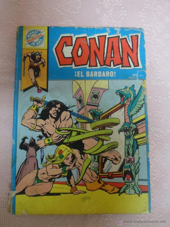 CONAN NÚMERO 19 POCKET DE ASES EDITORIAL BRUGUERA (Tebeos y Comics - Bruguera - Otros)
