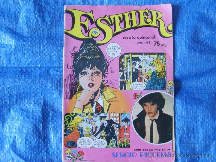 ESTHER REVISTA QUINCENAL AÑO 1 NUM.11 (BRUGUERA 1982) (Tebeos y Comics - Bruguera - Esther)