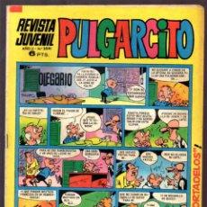 Tebeos: REVISTA JUVENIL PULGARCITO Nº 2091, AÑO II MAYO 19721 CONTIENE LOS BILLETES DE MORTADELO. . Lote 49387086