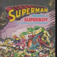 Tebeos: SUPERMAN Nº 5 - EDITA : BRUGUERA - 1980 - RETIRADO. Lote 49398235