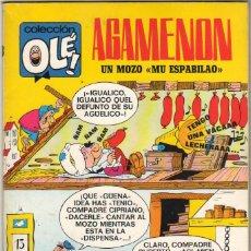 Tebeos: COLECCION OLE Nº 13 EDITORIAL BRUGUERA 1971 1ª EDICION 40 PTS - AGAMENON UN MOZO MU ESPABILAO, EXCEL. Lote 49469470