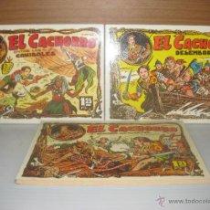 Tebeos: 3 CACHORRO TOMOS 4,5,7 IBERO COMIC AÑO 1985. Lote 49566443