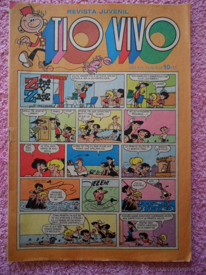 TIO VIVO 695 EDITORIAL BRUGUERA 1974 10 PESETAS (Tebeos y Comics - Bruguera - Tio Vivo)