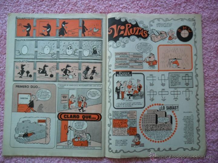 Tebeos: tio vivo 695 editorial bruguera 1974 10 pesetas - Foto 4 - 205080957