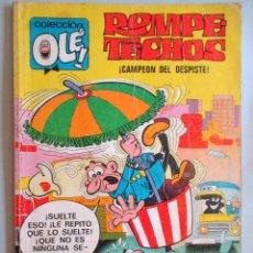 Tebeos: TEBEO - ROMPETECHOS , CAMPEÓN DEL DESPISTE Nº 36 - F. IBAÑEZ - ED. BRUGUERA 1975. Lote 49605787