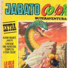 Tebeos: JABATO COLOR EXTRA. Nº 12. LA ISLA DE RAA. TERCERA ÉPOCA. BRUGUERA 1978. (C/A40). Lote 49655346
