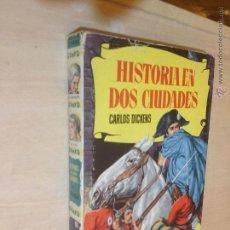 Tebeos: COLECCIÓN HISTORIAS BRUGUERA Nº 85 - HISTORIA DE DOS 2 CIUDADES - DICKENS - 1ª/59 - EXCELENTE. Lote 49660661