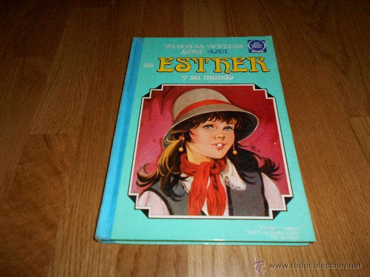 ESTHER Y SU MUNDO Nº 8 MUY DIFICIL!! BRUGUERA 1983 1ª EDICION JOYAS LITERARIAS SERIE AZUL BUEN ESTAD (Tebeos y Comics - Bruguera - Esther)