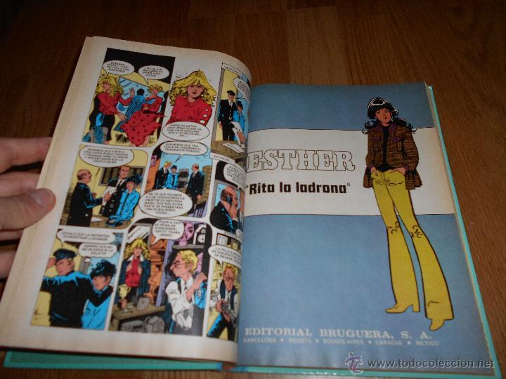 Tebeos: ESTHER Y SU MUNDO Nº 8 MUY DIFICIL!! BRUGUERA 1983 1ª EDICION JOYAS LITERARIAS SERIE AZUL BUEN ESTAD - Foto 5 - 49667435