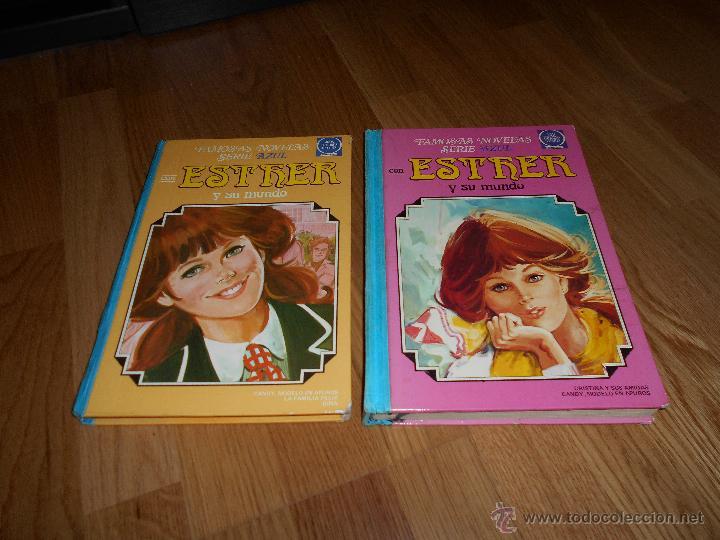 ESTHER Y SU MUNDO Nº 3 SERIE AZUL 1ª EDICION 1979 EDITORIAL BRUGUERA REGALO ESTHER Nº 6 1983 2ª ED (Tebeos y Comics - Bruguera - Esther)