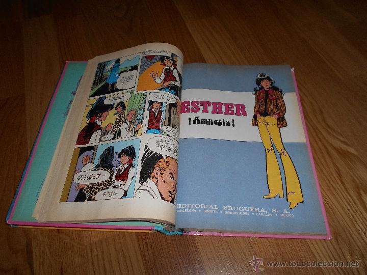 Tebeos: ESTHER Y SU MUNDO Nº 3 SERIE AZUL 1ª EDICION 1979 EDITORIAL BRUGUERA REGALO ESTHER Nº 6 1983 2ª ED - Foto 6 - 49668633