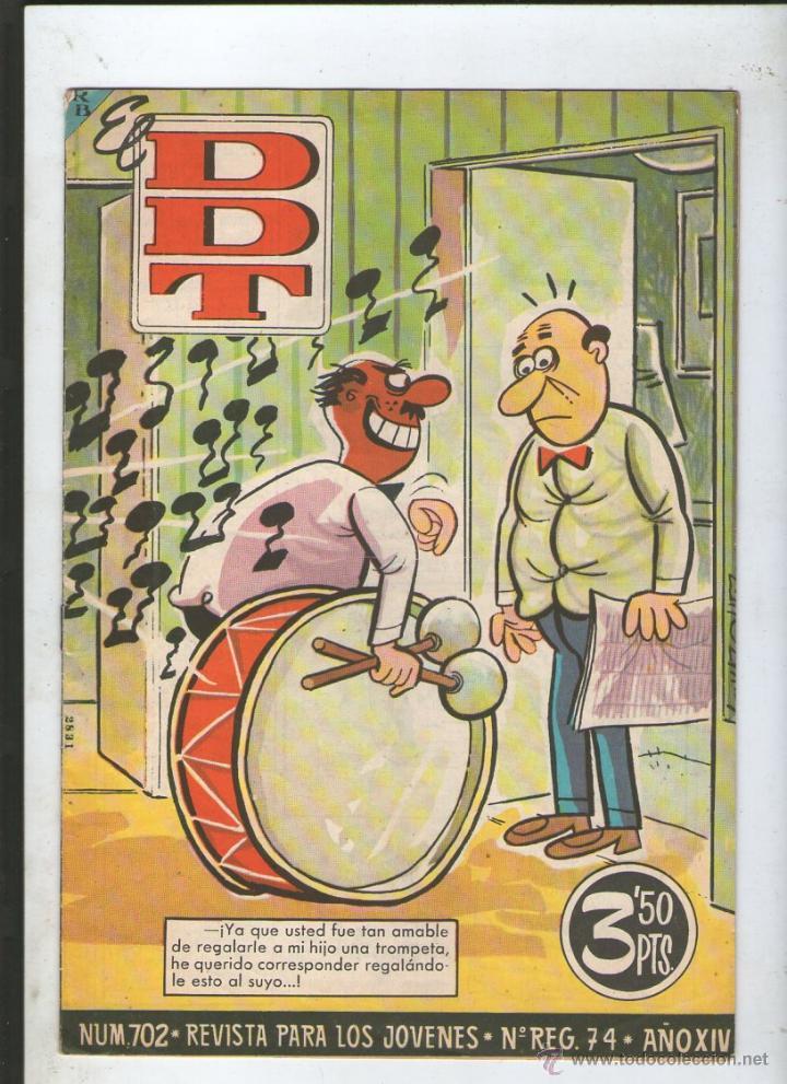 DDT Nº 702.DA (Tebeos y Comics - Bruguera - DDT)