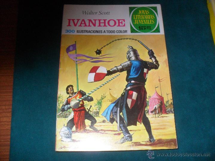 JOYAS LITERARIAS JUVENILES BRUGUERA Nº 16, 1970. WALTER SCOTT, IVANHOE. LABERINTO ROJO (Tebeos y Comics - Bruguera - Joyas Literarias)