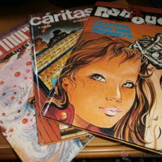 Tebeos: COLECCIÓN JET BRUGUERA - Nº 2,3,6 - CARITAS, BOB MORANE Y NANOUCHE - EDT. BRUGUERA 1ª ED. 1983. Lote 49852957