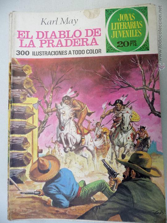 JOYAS LITERARIAS. Nº 139. EL DIABLO DE LA PRADERA. BRUGUERA. 20 PTAS (Tebeos y Comics - Bruguera - Joyas Literarias)