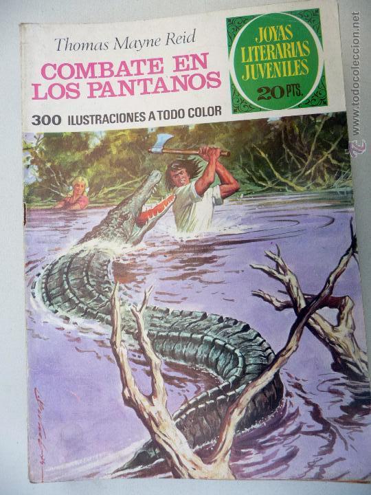 JOYAS LITERARIAS. Nº 143. COMBATE EN LOS PANTANOS. BRUGUERA. 20 PTAS (Tebeos y Comics - Bruguera - Joyas Literarias)