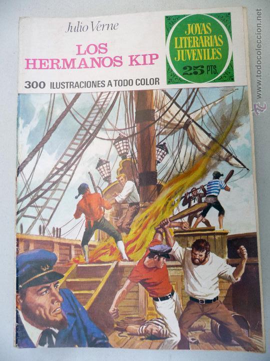 JOYAS LITERARIAS. Nº 158. LOS HERMANOS KIP. BRUGUERA. 25 PTAS (Tebeos y Comics - Bruguera - Joyas Literarias)