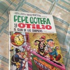 Tebeos: ALEGRES HISTORIETAS Nº 21. PEPE GOTERA Y OTILIO. EL CLUB DE LAS CHAPUZAS. BRUGUERA 1973.. Lote 49882103
