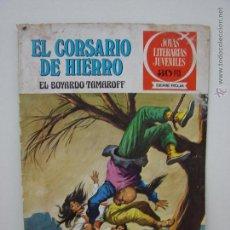 Tebeos: EL CORSARIO DE HIERRO. EL BOYARDO TAMAROFF. NUMERO 14. BRUGUERA. Lote 49984122