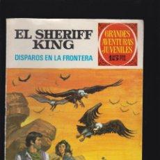 Tebeos: GRANDES AVENTURAS JUVENILES, SHERIFF KING COLECCION COMPLETA 36 EJEMPLARES -ED. BRUGUERA. Lote 49993178