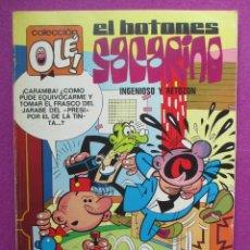 Tebeos: TEBEO, COLECCION OLE, 1ª EDICION, EL BOTONES SACARINO, INGENIOSO Y RETOZON, LOMO Nº68, 1973. Lote 50026060