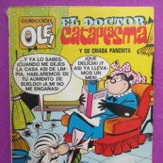 Tebeos: TEBEO, COLECCION OLE, 1ª EDICION, EL DOCTOR CATAPLASMA Y SU CRIADA PANCHITA, LOMO Nº46, 1972. Lote 50026161