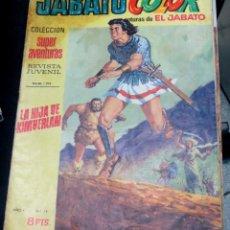 Tebeos: JABATO COLOR LA HIJA DE KIMBERLAN Nº 14 AÑO I COLECCIÓN SUPER AVENTURAS Nº 1.208 AÑO 1970. Lote 50090637