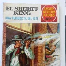 Tebeos: NOVELA GRAFICA JUVENIL, EL SHERIFF KING Nº 31 BRUGUERA 1972. Lote 50091308