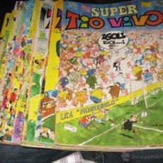 Comics: SUPER TÍO VIVO - LOTE 107 NÚMEROS DE 135 COMPLETA- BRUGUERA. Lote 49697103