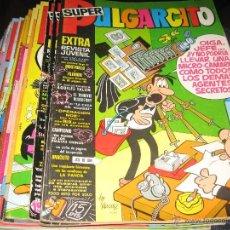 Tebeos: SUPER PULGARCITO - LOTE 29 NÚMEROS DE 152 COMPLETA - BRUGUERA. Lote 72285279