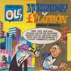 Giornalini: COLECCION OLE Nº 95 MORTADELO Y FILEMON - NUMERADO EN EL LOMO - BRUGUERA. Lote 50111368
