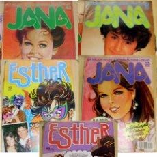 Tebeos: ESTHER JANA LOTE DE 5 REVISTAS ESTHER N.º: 65 - 69 JANA N.º: 35 - 43 - 73. Lote 50111958