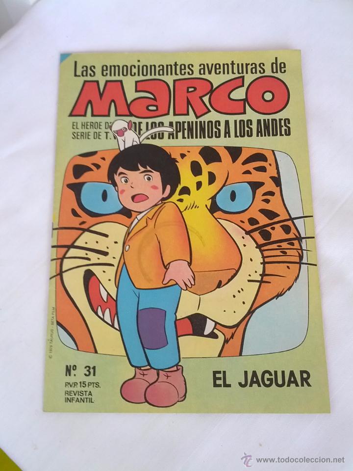 MARCO Nº 31 EL JAGUAR EDITORIAL BRUGUERA AÑO 1977 (Tebeos y Comics - Bruguera - Otros)