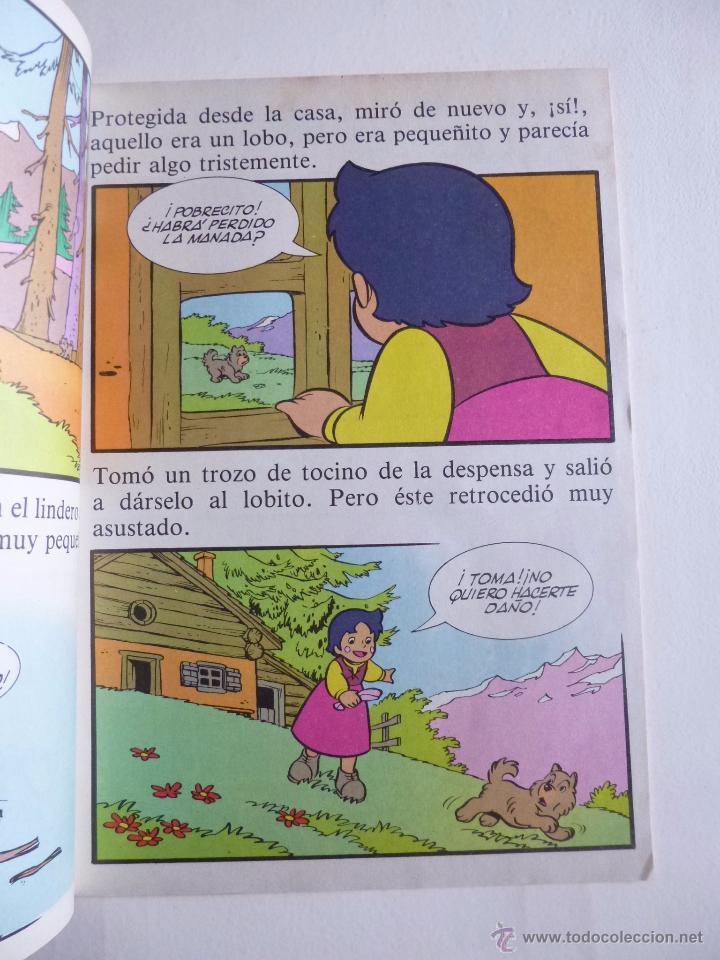 Tebeos: LAS BELLAS HISTORIAS DE HEIDI Nº 2 EDICIONES B 1987 - Foto 2 - 50131632
