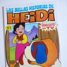 Tebeos: LAS BELLAS HISTORIAS DE HEIDI Nº 3 EDICIONES B 1987. Lote 50131645