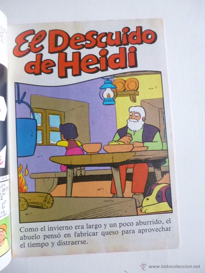 Tebeos: LAS BELLAS HISTORIAS DE HEIDI Nº 3 EDICIONES B 1987 - Foto 2 - 50131645