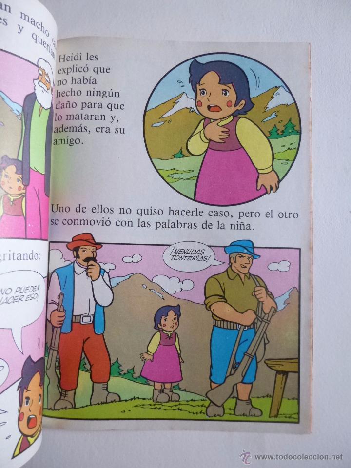 Tebeos: LAS BELLAS HISTORIAS DE HEIDI Nº 3 EDICIONES B 1987 - Foto 4 - 50131645